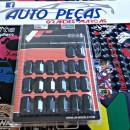 Lug Nuts M12x,15 Japan Racing Pretos