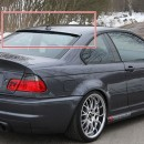 Aileron do vidro BMW E46