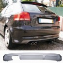 Difusor / Spoiler do Para-Choques Audi A3 8P S-Line