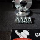 Espaçadores / Alargadores de Jantes Butzi 4x108 65.1 de 16mm c/pernos