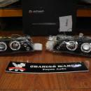 Farois Angel Eyes Fundo Negro Toyota Corolla E10