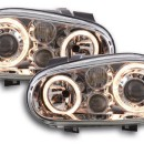 Farois Angel Eyes VW Golf 4 . 98-03 cromo