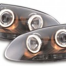 Farois Angel Eyes VW Golf 5 Tipo 1K Ano 03-08 pretos