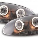 Farois Angel Eyes VW Golf 5 Tipo 1K Ano 03-08 pretos