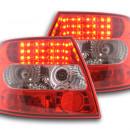 Farolins Audi A4 B5 Sedan LED claros /vermelhos 95-00