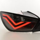 Farolins Seat Ibiza 6J 3 portas LED pretos