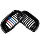 Grelhas com listas BMW E46 ///M em plastico