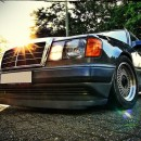 Lip frontal Mercedes W124 AMG