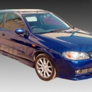 Lip frontal Nissan Almera N16