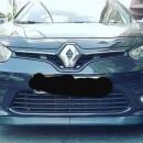 Lip frontal Opel Astra H adaptado em Renault Megane 3