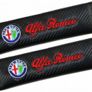 Almofadas de Cintos Alfa Romeo tipo carbono