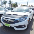 Car bra (protecção de capo) Honda Civic Coupe Sedan 2016 2017 2018 2019