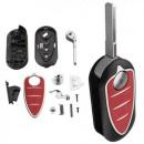Carcaça de chave completa Alfa Romeo Mito Giulietta 159 GTA