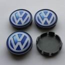 Centros de jantes VW 68/65mm