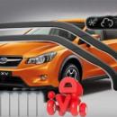 Chuventos frente e trás Subaru XV 2012>
