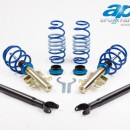 Coilovers AP Honda CRX Civic Coupe EG2-6, 8, 9, EH6, 9, EJ1, 2