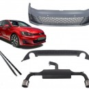 Kit de carroçaria com sistema de escape Vw Golf 7 GTI