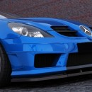Lip frontal Mercedes SLK R171 (SLK R172 amg look)