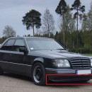 Lip frontal Mercedes W124 AMG Look