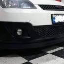 Lip frontal Opel Astra H adaptado em Ford Fiesta 2002-2008