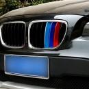 Listas da grelha BMW X1 ///M em plastico