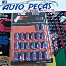 Lug Nuts M12x1,5 Japan Racing Neon Chrome