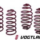 Molas de Rebaixamento Vogtland Audi A3 8L 1.8T / 1.9D  / 1.9TDi 50/30mm