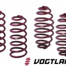 Molas de Rebaixamento Vogtland Vw Golf 1 40mm