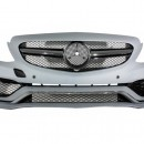 Para-choques frontal MERCEDES C-Class W205 S205 (2014-up) Limousine T-Model Coupe Cabriolet C63 AMG Design