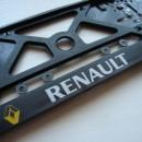 Placa de matricula Renault
