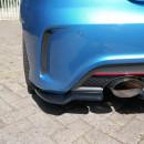 Splitters traseiros Mercedes A-Class W176 AMG-LINE ANTES DO FACELIFT 2013-2015