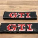 Almofadas de Cinto Carbono Vw GTI