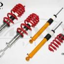 Coilovers V-Maxx Xxtreme Audi A4 B6/B7/8E Avant/Cabrio 1.6/1.8T/2.0/FSi/TFSi/2.4/3.0/1.9TDi/2.0TDi/2.5TDi excl. Quattro/height adj./Sport