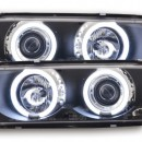 Farois Angel Eyes CCFL BMW E36 Coupe/Cabrio pretos