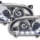 Faróis de luz diurna VW Golf 3 cromo