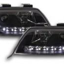 Farois pretos em Led Audi A6 C5 4B 97-01