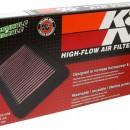 Filtro de Ar K&N Fiat Stilo 1.8i, 2.4i, 1.9d 2001-2007