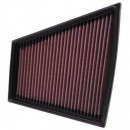 Filtro de Ar K&N Vw Polo 9N 1.2i 6v Excl. AWY Eng, 1.2i 12v, 1.8i , 1.4d, 1.9d