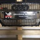 Grelha Audi A4 B8 B9 RS4 2013-2014 preta
