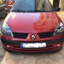 Lip frontal Opel Astra H adaptado em Renault Clio 2