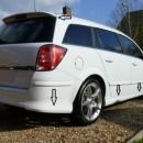 Opel Astra H Caravan OPC - Kit Lip Frontal + Traseiro + Embaladeiras + Aileron