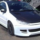 Para-choques frontal Peugeot 206