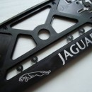 Placa de matricula Jaguar