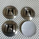 Centros de Jantes 3D Honda 56mm cinza