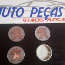 Centros de jantes Peugeot 60/55mm