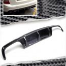 Difusor Mercedes C-Class S204 C63 AMG Avant com PCD em carbono