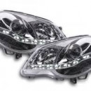 Farois cromados LED Daqylight Vw Polo 9N3