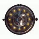 Faróis de Nevoeiro em DRL Mini Cooper R56/57 (06-10) negros