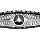 Grelha Mercedes Benz Classe A W176 (2012-2015) A45 Diamante Distronic AMG Design