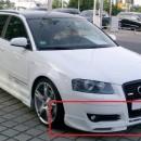 Lip Frontal Audi A3 8P S-Line